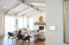 qolsys IQ2 Living Room